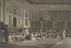A Representation for the delivery of the Ratified Treaty of 1790 by Sir Charles Warre Malet Bart to His Highness Soneae Madarou Peshwa